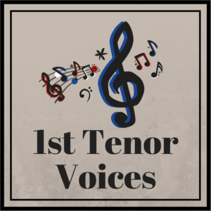First Tenor Voices